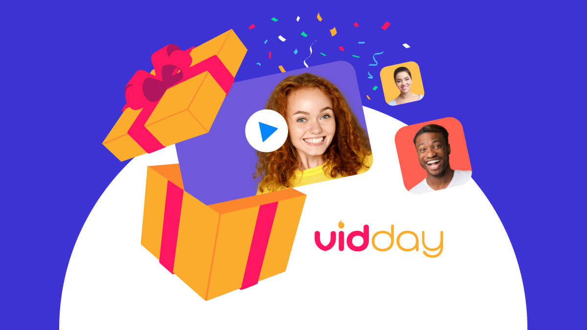 Vidday The Group Video Gift Maker